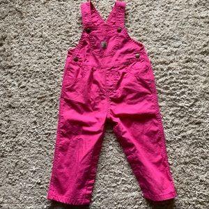 Carhartt Bibs Bright Pink